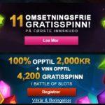 Mange casinospill på Videoslots Casino!