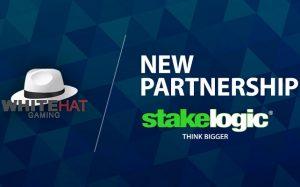 White Hat Gaming og Stakelogic samarbeider nå!